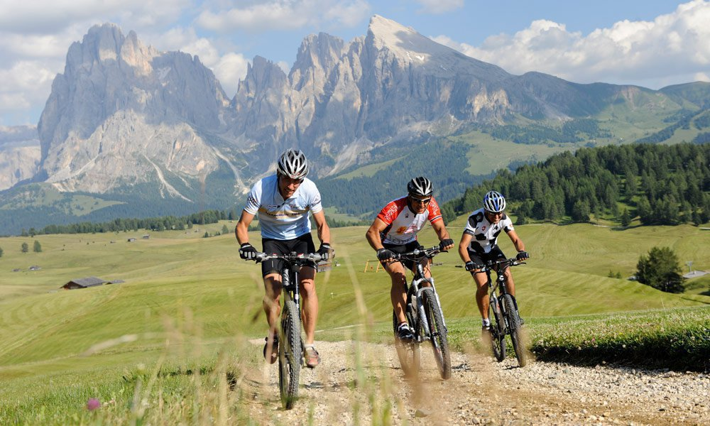 Mountain bike all'Alpe di Siusi: esplorare l'Alto Adige su due ruote