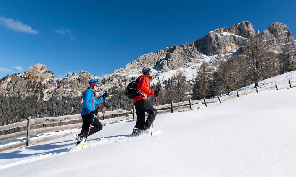 Snowshoeing on the Alpe di Siusi – In harmony with nature